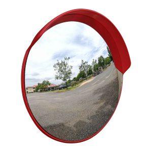 PremiumSun™ 100cm Shatterproof Round Convex Mirror (Outdoor Use)
