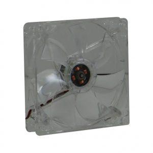 12cm 4 Colour – LED Transparent Fan